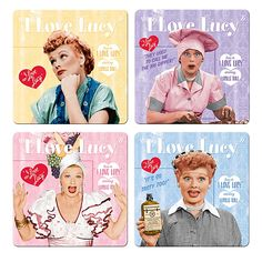 I Love Lucy Quotes   Love Lucy Coasters: As Bright and Fun as Lucy, Herself… Well ...