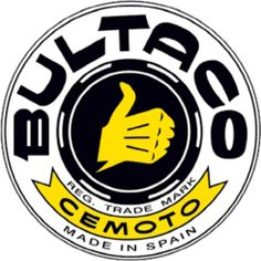 Vintage Motorcycles Classic A History of Bultaco Motorcycles, by Philip Tooth, Motorcycle Classics March/April - Celebrating 50 years of Bultaco motorcycles and their status as one of the most iconic classic Spanish motorcycles. Enduro Vintage, Motos Vintage, Vintage Motocross, Vintage Bikes, Vintage Motorcycles, Vintage Racing, Vintage Cars, Motorcycle Logo, Motorcycle Companies