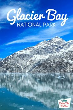 Glacier Bay National Park | Drive The Nation Alaska National Parks, Glacier Bay National Park, National Park Posters, Glacier Bay Alaska, Nationalparks Usa, Bay Lodge, Travel Posters, Places To Travel, East Tennessee