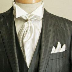 アスコットタイを結婚式で着こなす!おしゃれなデザイン画像まとめ | ときめキカク365