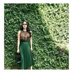 For more of my ootds follow @stylebylovemarie_e #lovemarie 💚💚💚 (I'll be saying goodbye to this green wall very soon😢) thank you @iampaulcayabyab for my hair Heart Evangelista Style, Bridesmaid Dresses, Prom Dresses, Formal Dresses, Madison Beer Outfits, Work Looks, Event Dresses, Office Fashion, Classy And Fabulous