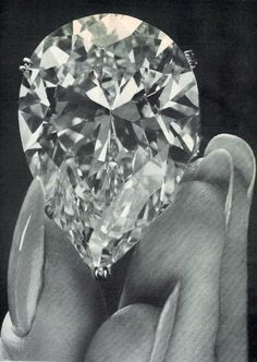 The Taylor-Burton Diamond 69.42 Carat Diamond which was later turned into a necklace by Cartier