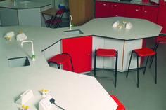 Solid grade laminates in school lab Lab, School, Furniture, Home Decor, Homemade Home Decor, Labs, Home Furnishings, Interior Design, Home Interiors