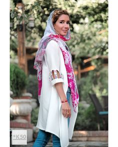 Hijab Fashion, Women's Fashion, Persian Girls, Hijab Dress, Designer Dresses, Girl Outfits, Kimono Top, Street Style, Models