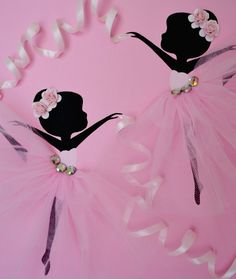 12 X 12 Dancing Ballerinas canvas. This wall art piece is painted with acrylic paint, decorated with tulle skirts, ribbon, rhinestones and roses. Cute gift idea for any ballerina lover. Custom orders are always welcome.