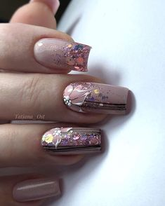 Nail Tech Designs Wedding Lore There are few other life events so steeped in tradition as weddings. Nail Art Designs Videos, Diy Nail Designs, Nail Polish Designs, Gel Nail Art, Gel Nails, Cute Nails, Pretty Nails, Nagel Bling, Nailart