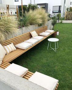 Outdoor Sofa, Outdoor Furniture, Outdoor Decor, Garden Seating, Sun Lounger, Pergola, Backyard, Landscape, Happy Sunday