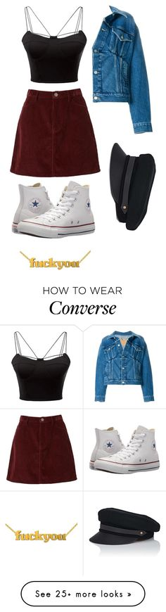 """YEAH"" by creativegurlsrbaexoxo on Polyvore featuring WithChic, Lola, Balenciaga and Converse"