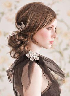 23 Breathtaking Wedding Hairstyles | Updos | Eventi e Wedding P. - The Wedding Blog