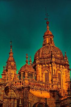 Spain. Santiago de Compostela. Cathedral.