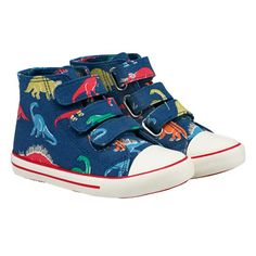 Dino Stamps Kids High Tops | Cath Kidston |