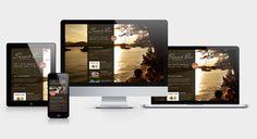 Sunset Bar - Responsive Webdesign Corporate Design, Bar, Web Design, Sunset, Sunsets, Design Web, Brand Design, Website Designs, The Sunset