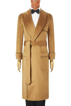 e91ef9c777d1c Our plain, pure cashmere. This camel dressing gown is made from the finest  cashmere