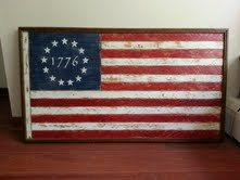 sewed the first american flag