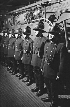 Roll call - London Fire Brigade pre 70s