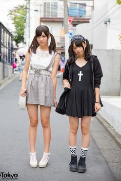 Harajuku Girls with Twin Tails