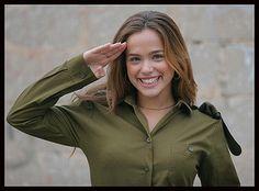 IDF Women in uniform Blogging from Israel on Guns, Security ...