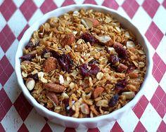 Granola-Coconut, Cranberries and Almonds