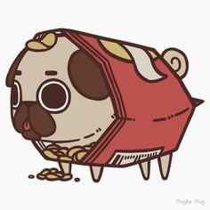 Puglie Chips by Puglie  Pug
