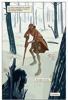 EL Comics: Ark.  Written by Ehud Lavski.  Art by Yael Nathan  This is beautiful.
