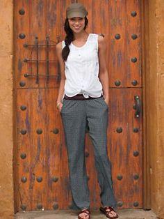 Women's Ophelia Top and Guitar Pants Outfit | Sahalie.com
