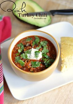 Brrrr, it has been very cold across most of  the U.S., so today I have a recipe that will quickly warm you up, Quick Turkey Chili. Don't you just love recipes with quick in the title? I do love how easy and fast this recipe can be prepared. You even have time to whip up... Read More »
