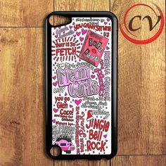 Mean Girls Collage iPod 5 Case
