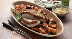 Try cooking this delicious rosemary salt crusted pork leg for the family this easter. You can even cook with Curtis Stone in our recipe video!