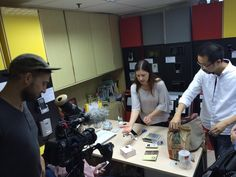 Filming at Hong Kong based SME that uses Joy Aethers mobi technology