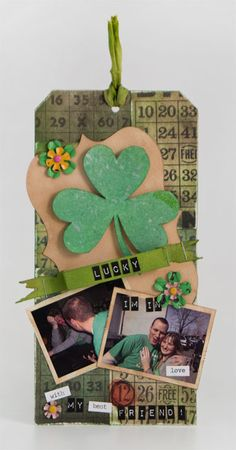 Lucky in Love Tag By Kelly Kronowski