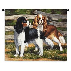 Fence Line Art Tapestry Wall Hanging