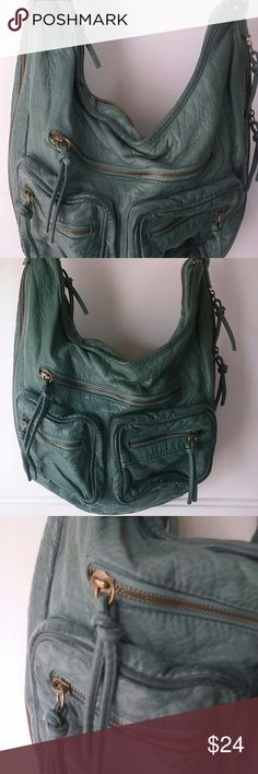 Mossimo Hobo Shoulder Strap Handbag Very boho and slouchy. Can be worn as a shoulder bag or crossbody bag. Great condition. Mossimo Bags