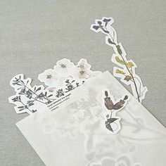 Pressed Leaves Bookmarks