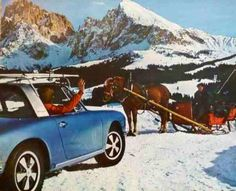 Ski Porsche 1970 911 Targa