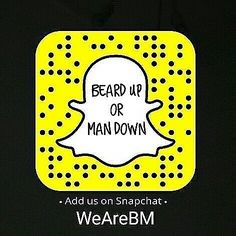 The first and biggest beard account on Snapchat ever!! Add us: WeAreBM for more beards and motivation!  @beardmuscles