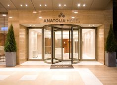 Entrance of Anatolia Hotel