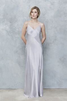 The latest Ghost collection is perfect for boho bridesmaids - Style 1574 Ghost Bridesmaid Dress, Slip Bridesmaids Dresses, Satin Dresses, Silk Dress, Blue Dresses, Boho Bridesmaids, Bridesmaid Ideas, Unique Dresses, Beautiful Dresses