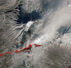 NASA Satellite Captures New Russian Volcanic Eruption by NASA Goddard Photo and Video, via Flickr