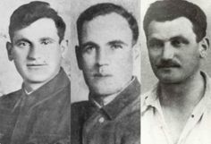 Tuvia, Azael, and Zus Bielski. Amazing men.