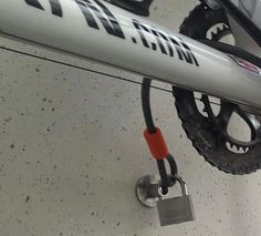 Diebstahlschutz für ein Fahrrad