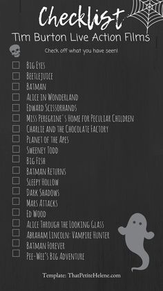 Discover recipes, home ideas, style inspiration and other ideas to try. Netflix Movie List, Netflix Movies To Watch, Movie To Watch List, Good Movies To Watch, Halloween Movies, Scary Movies, Tim Burton Movies List, Tim Burton Characters, Wallpaper Collage