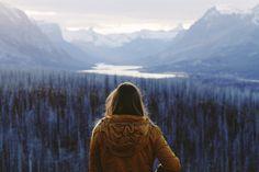 Alex Strohl - On the back roads of Glacier National Park,...