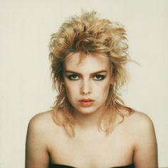 Kim Wilde - Polaroid: close up portait
