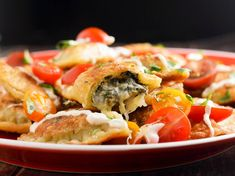 Why Dip it? Put Spinach and Artichoke Dip Inside Pierogi Instead