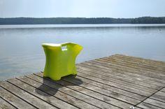SaSa menossa kalastamaan! Made in Finland. Design Kitta Perttula.
