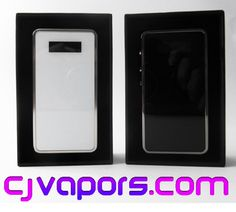 Win a #SnowWolf 200W TC Box Mod, Limited edition or White from @cjvapors