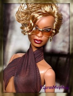 Passion by CarmMeldoll, via Flickr This doll kinda resembles Mary J Bridge
