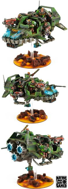 Land Speeder, Salamanders, Scouts, Space Marines - Space Marine Land Speeder Storm - Gallery - DakkaDakka | One Dakka just isn't enough.