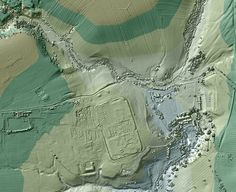 'Lost' Roads of Ancient Rome Discovered with 3D Laser Scanners: The U.K.'s Environmental Agency released this image of Vindolanda, a Roman fort in northern England, just south of Hadrian's Wall.