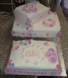 Christening Cake Girl